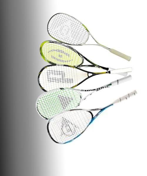 raquettes de squash