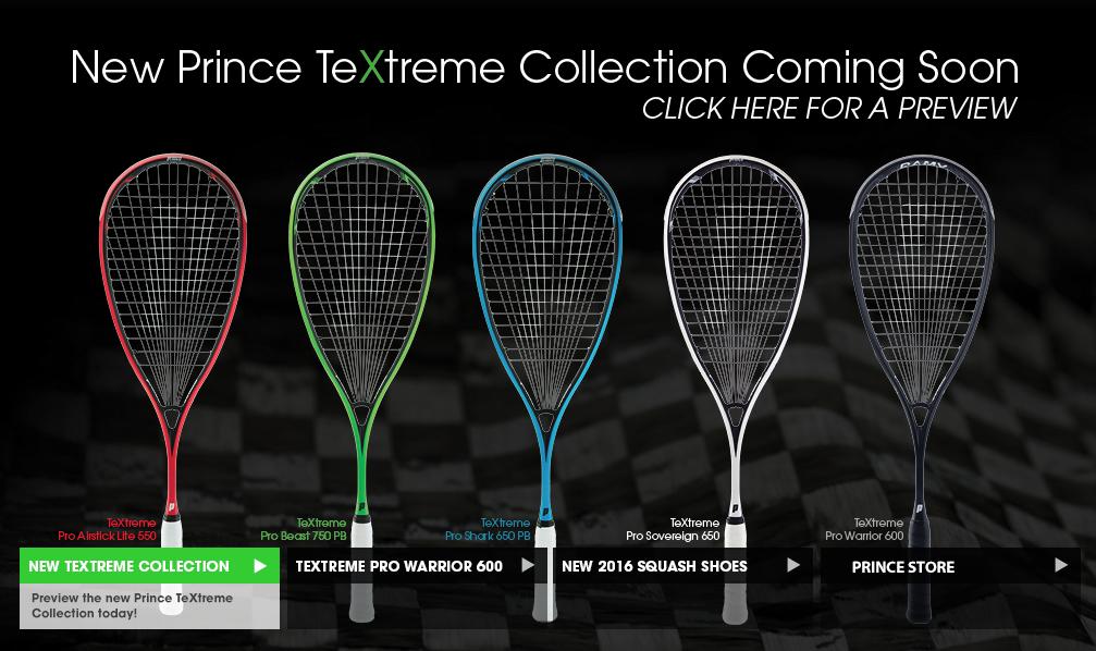 raquettes prince squash 2016
